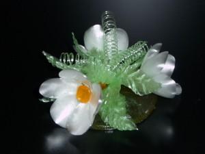Zuckerkurs: Blumenbouquet aus gezogenem Isomalt